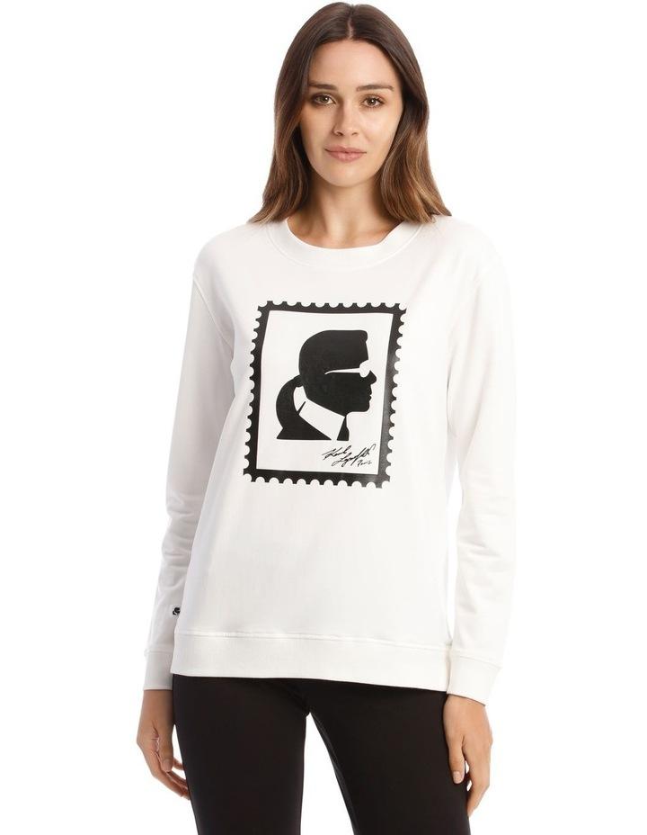 Karl Stamp Frame Sweatshirt image 1