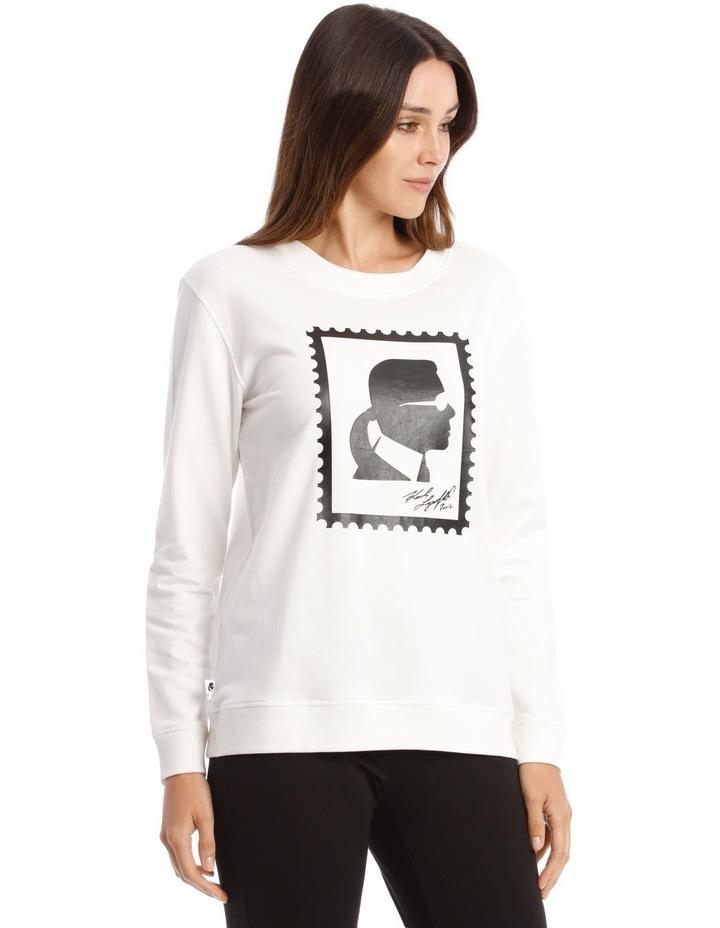 Karl Stamp Frame Sweatshirt image 2