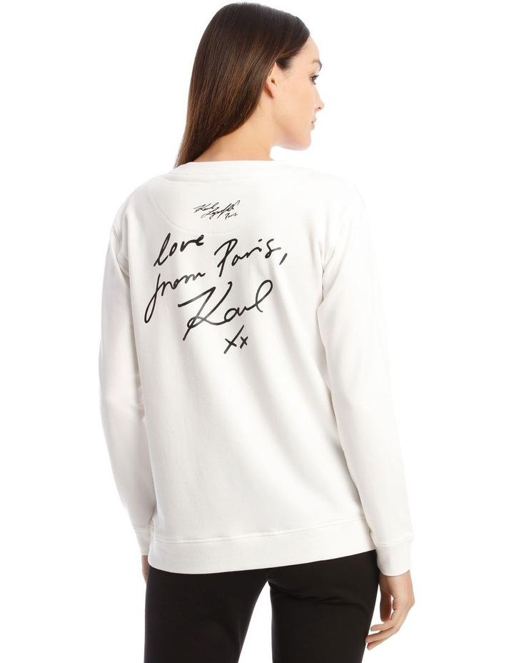 Karl Stamp Frame Sweatshirt image 3