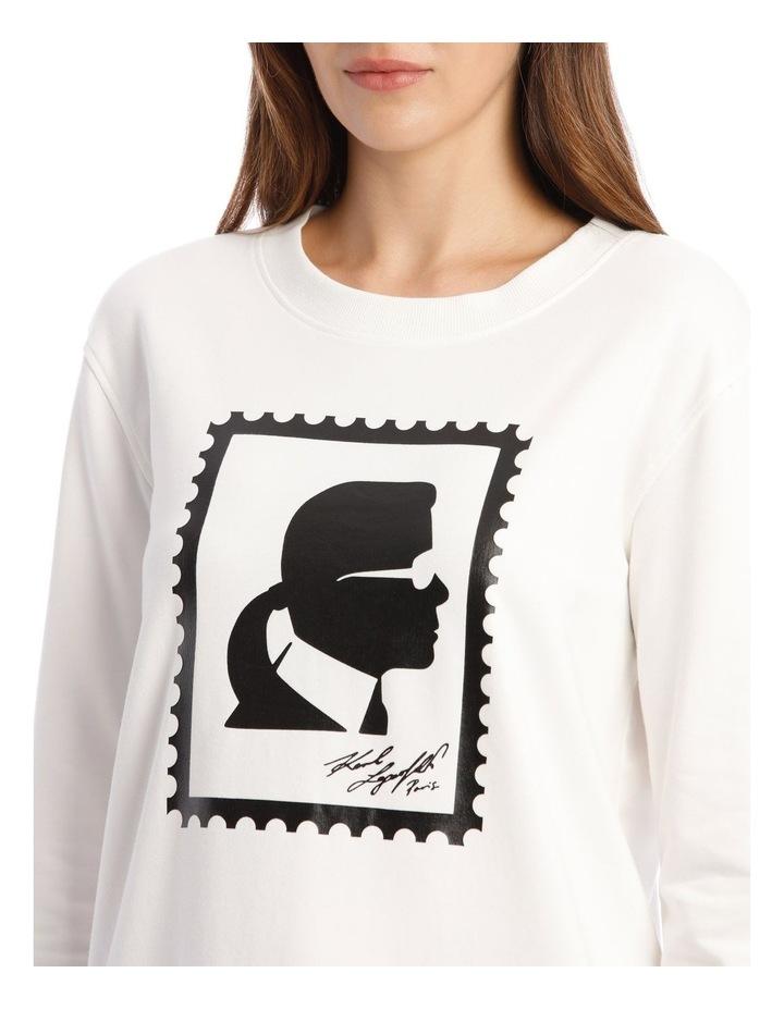 Karl Stamp Frame Sweatshirt image 4