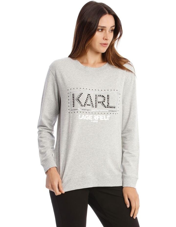 Sequin Karl Sweatshirt image 2
