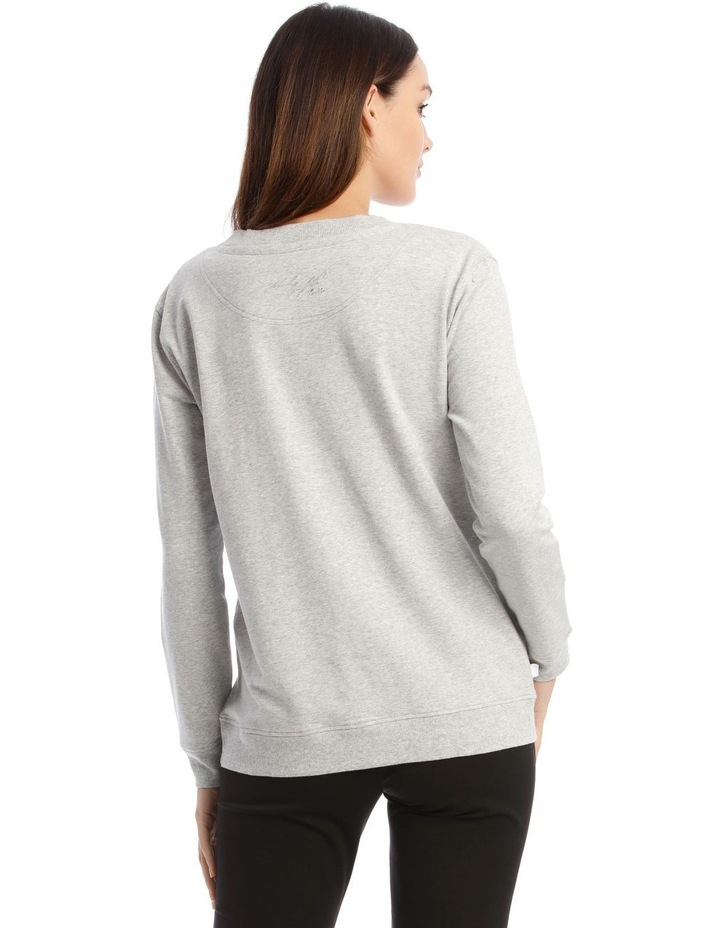 Sequin Karl Sweatshirt image 3