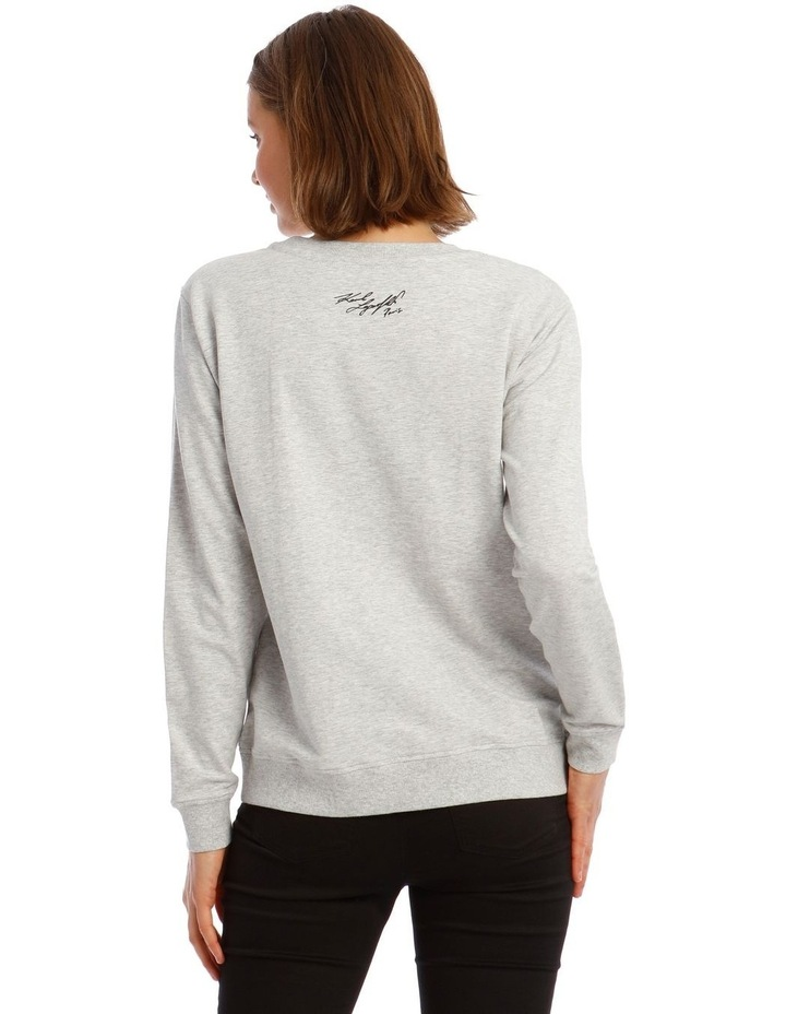 Neon Eiffel Tower Sweatshirt image 3