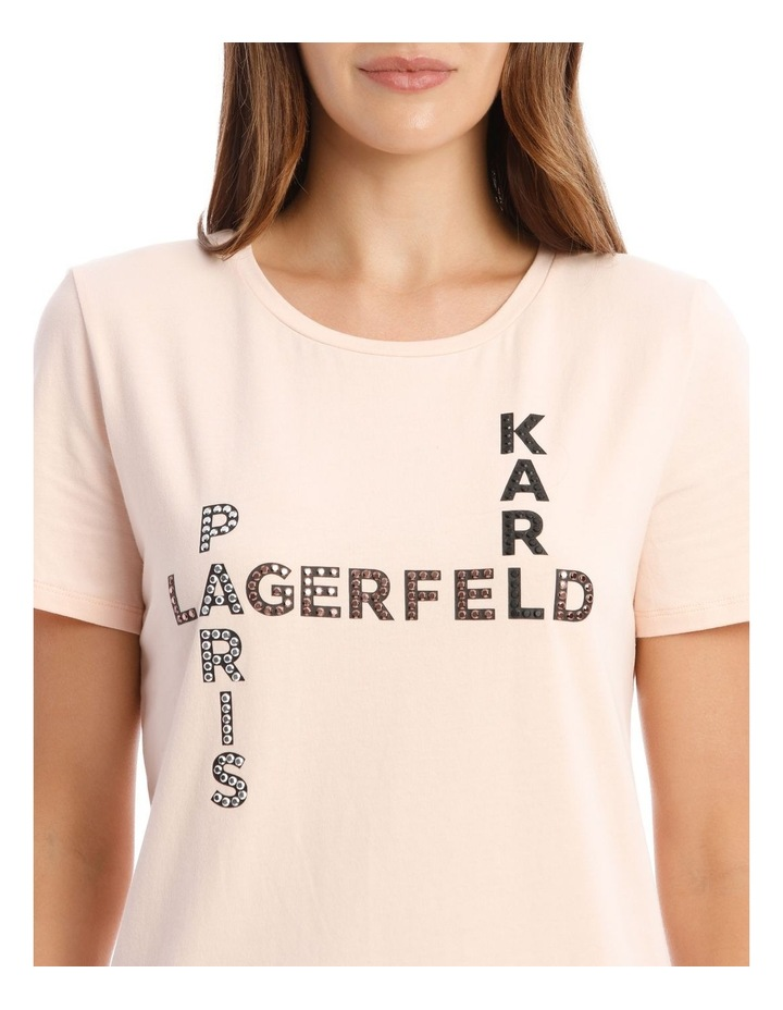 Karl Crossword T-Shirt image 4