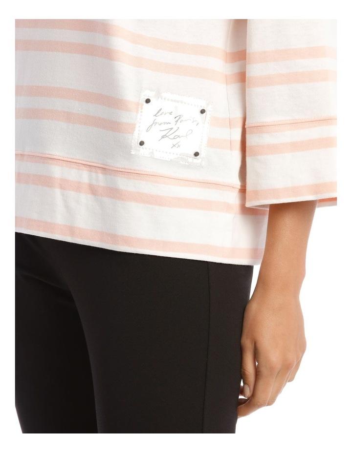 Stripe Knit With Logo image 4