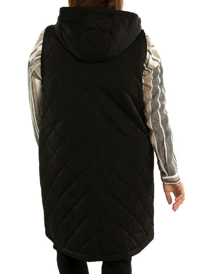 Longline Quilted Vest image 2