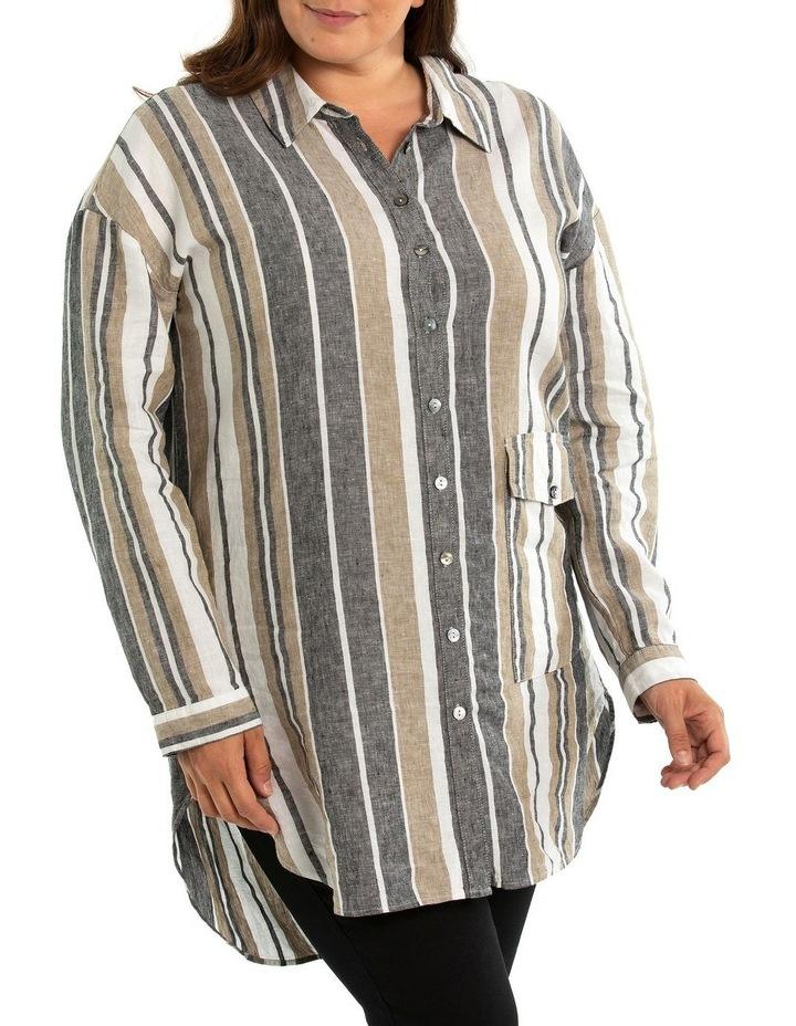 Stripe Linen Shirt image 1