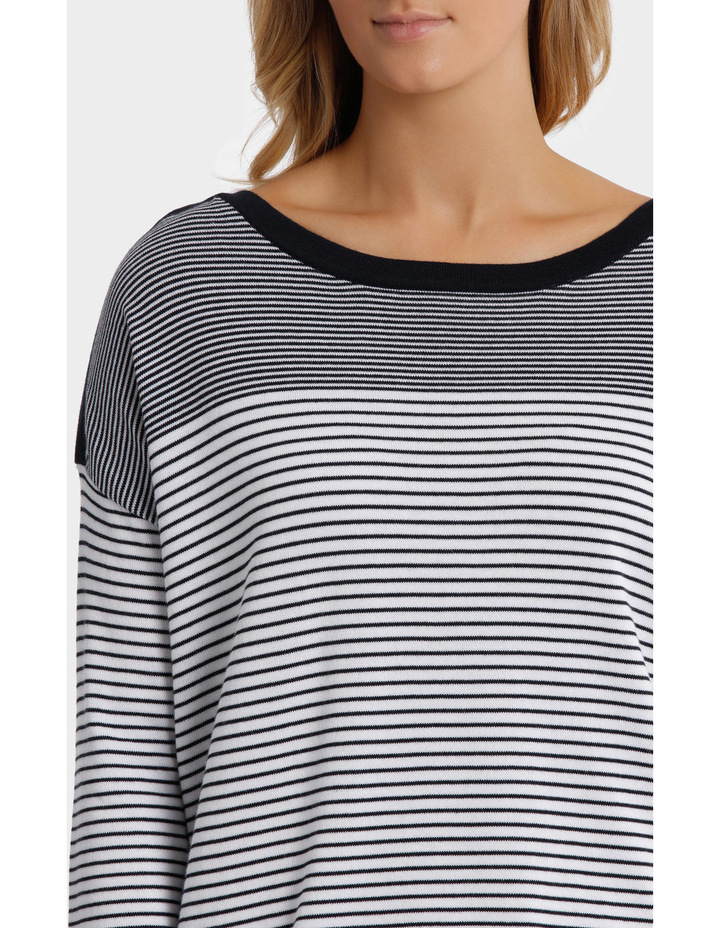 Variegated Stripe Pullover image 4