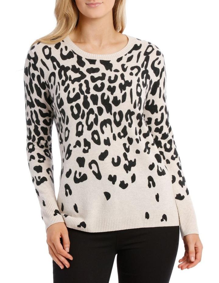 Animal Print Pullover image 1