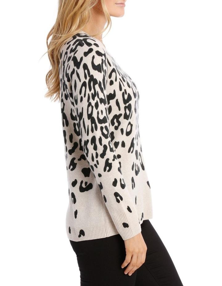 Animal Print Pullover image 2