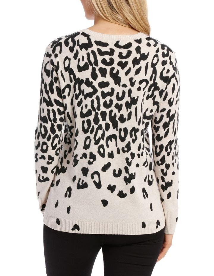 Animal Print Pullover image 3