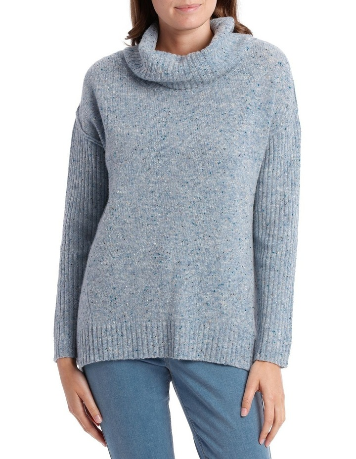 Cowl Neck Donagal Pullover image 1