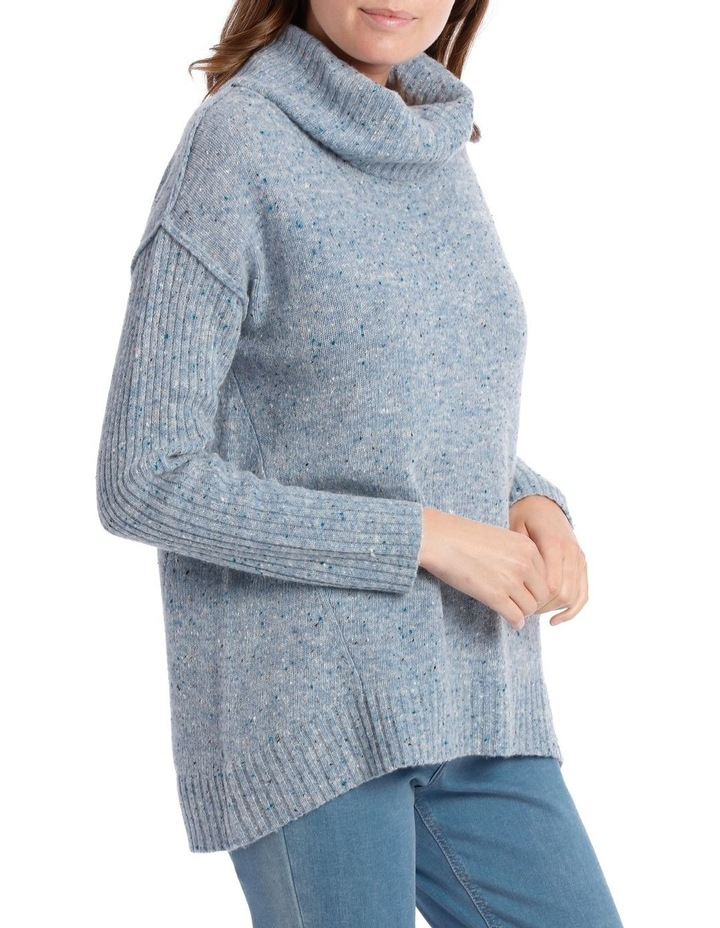 Cowl Neck Donagal Pullover image 2