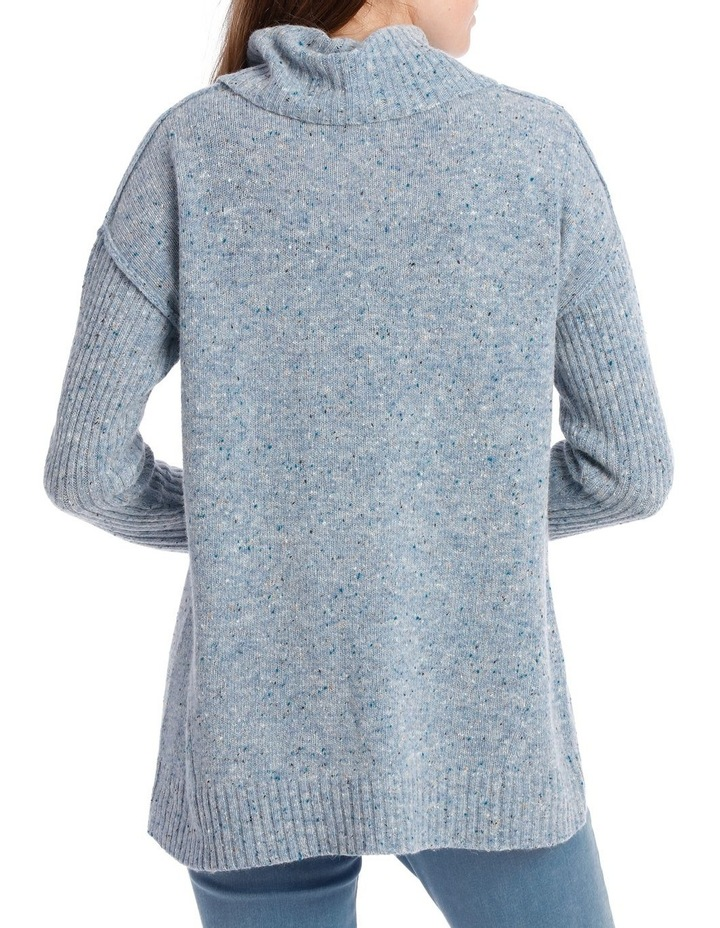 Cowl Neck Donagal Pullover image 3