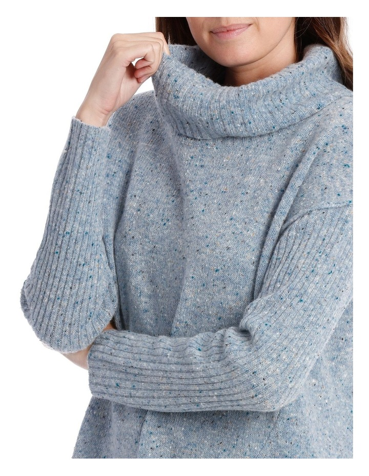 Cowl Neck Donagal Pullover image 4