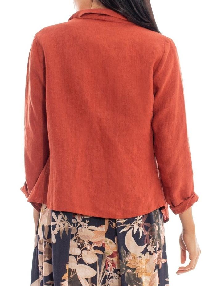 Waterfall Linen Jacket image 3