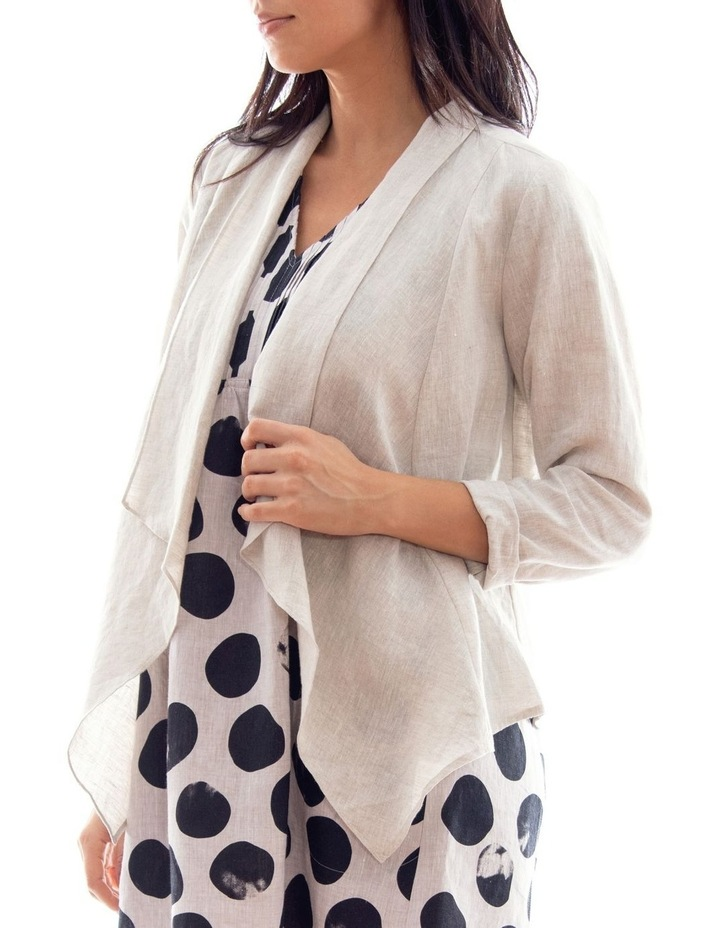 Waterfall Linen Jacket image 2