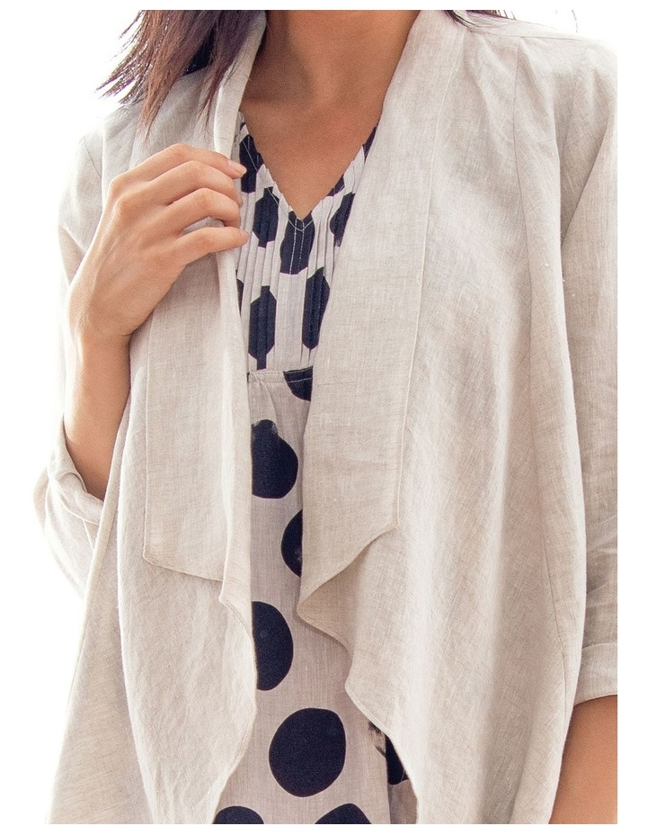 Waterfall Linen Jacket image 3