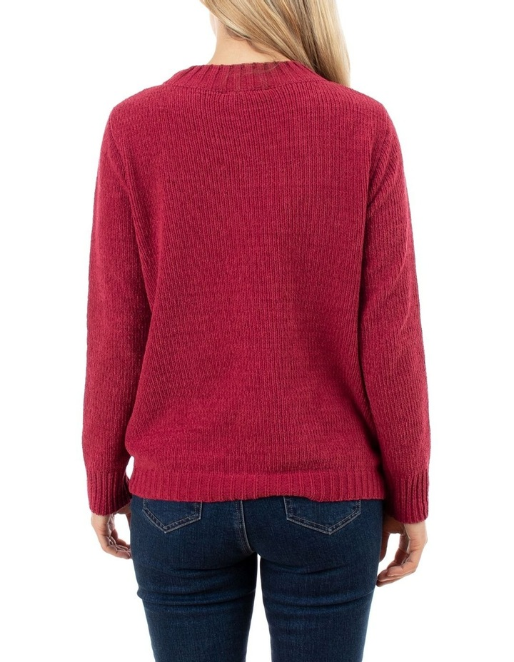 Chenille Cable Pullover image 3