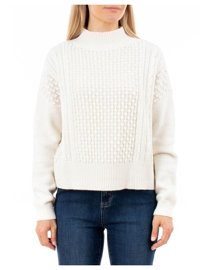 Long Sleeve Multi Bobble Pullover image 1