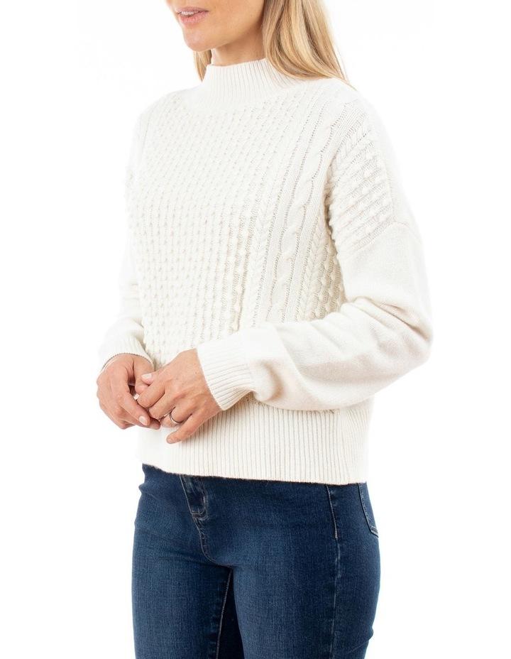 Long Sleeve Multi Bobble Pullover image 2