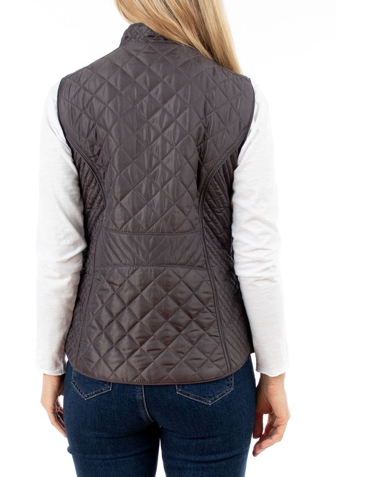 Quilted Puffer Vest image 3