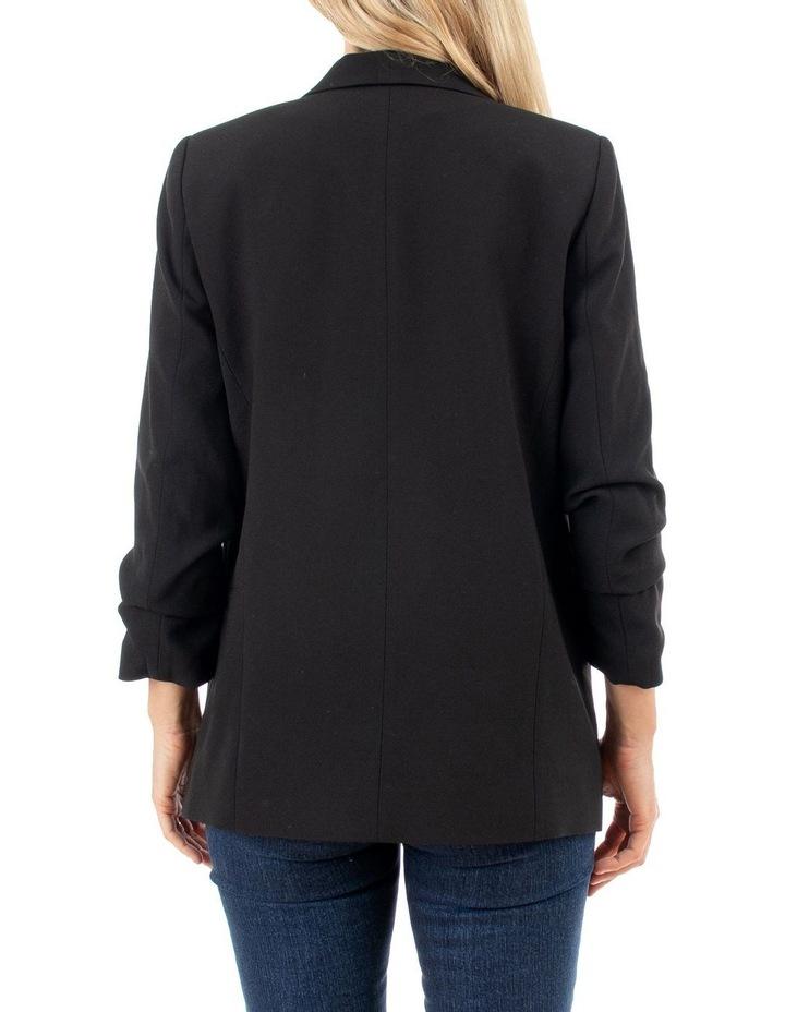 Rouched Sleeve Blazer image 3