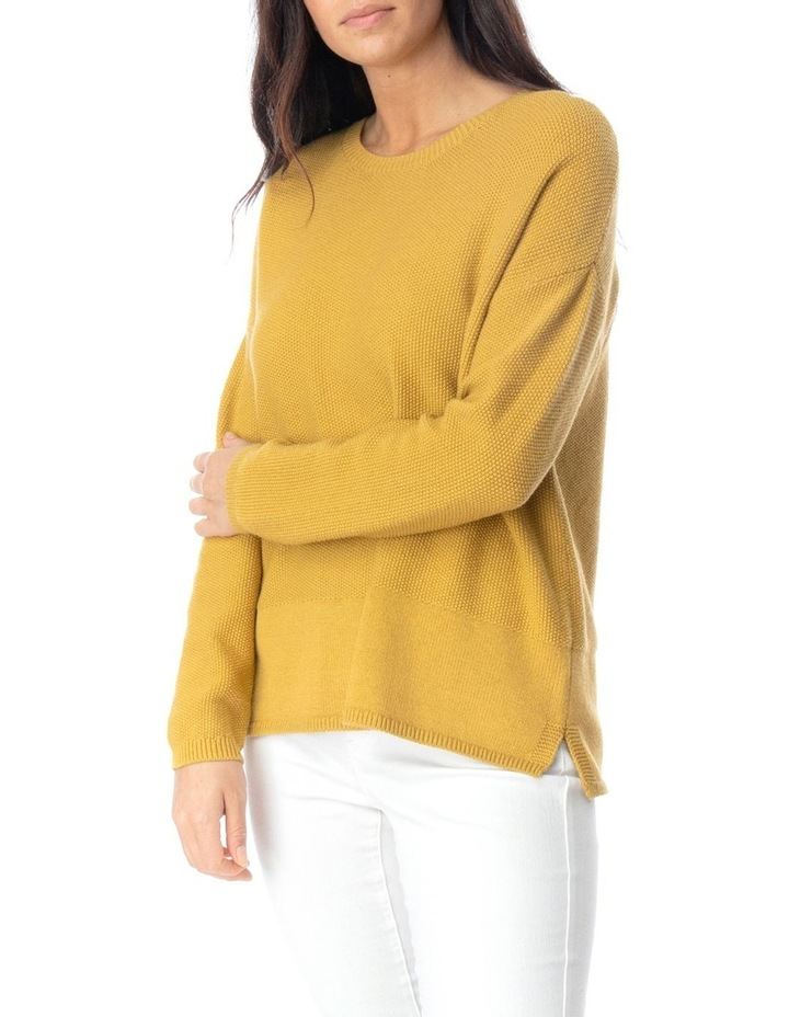 Long Sleeve Loop Stitch Pullover image 3