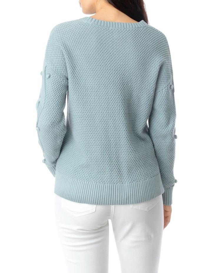 Long Sleeve Organic Bobble Pullover image 4