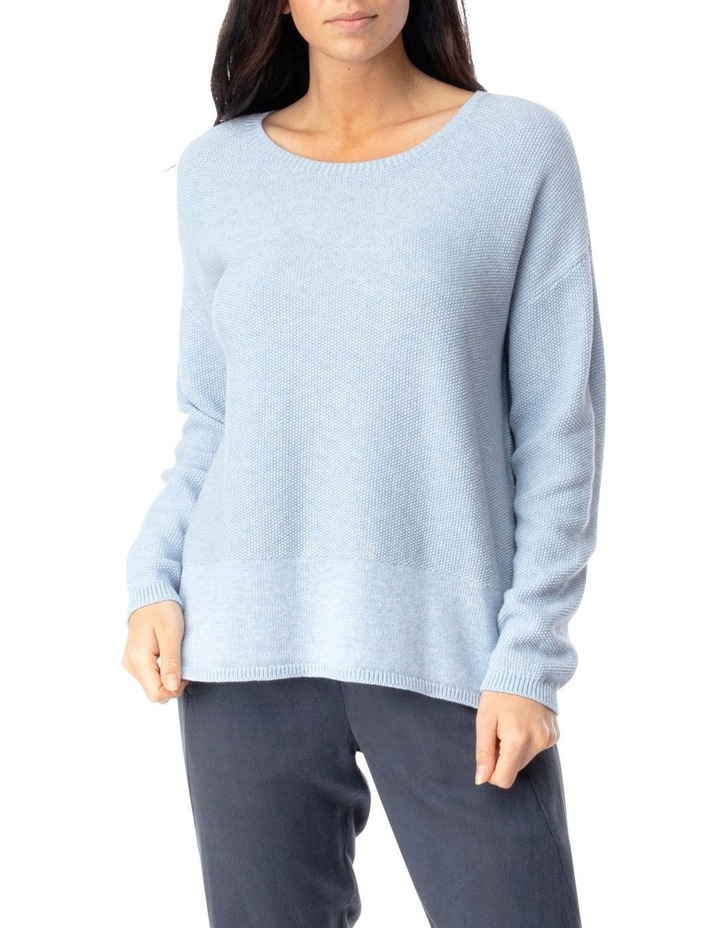 Long Sleeve Loop Stitch Pullover image 1