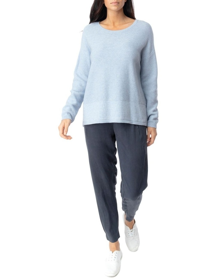 Long Sleeve Loop Stitch Pullover image 2