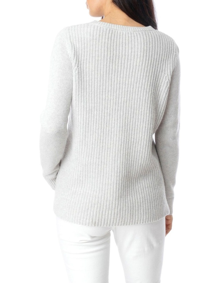 Long Sleeve Texture Front Pullover image 4