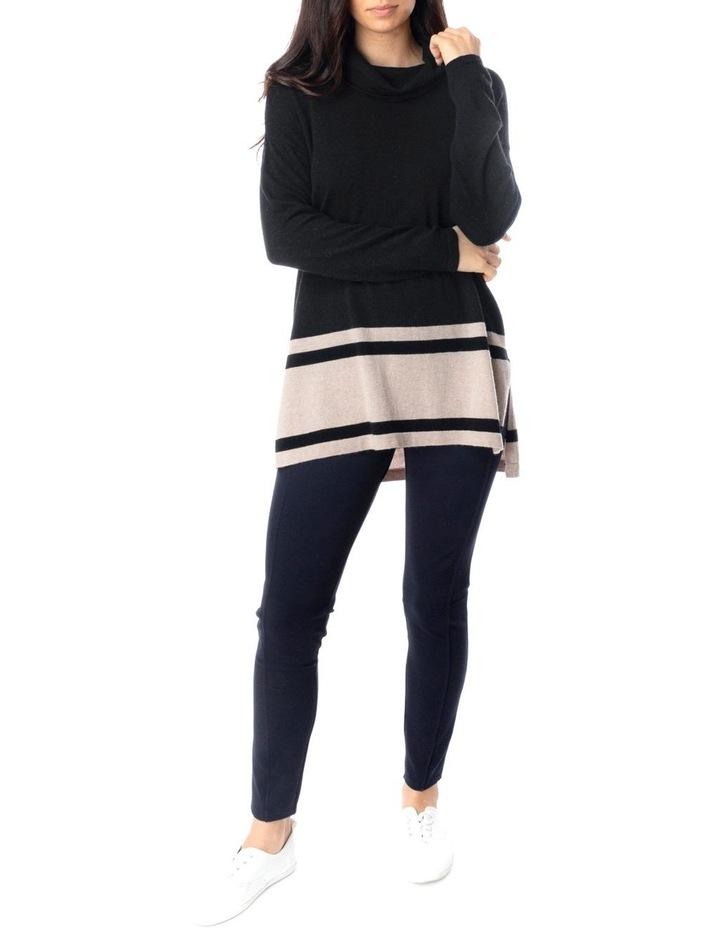 Long Sleeve Block Stripe Pullover image 2