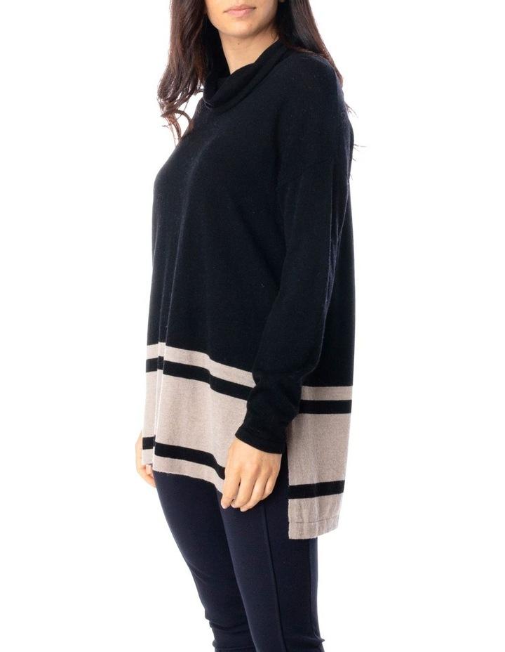 Long Sleeve Block Stripe Pullover image 3
