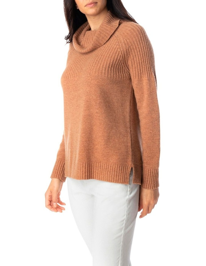 Ribbed Cowl Nk Pullover image 3