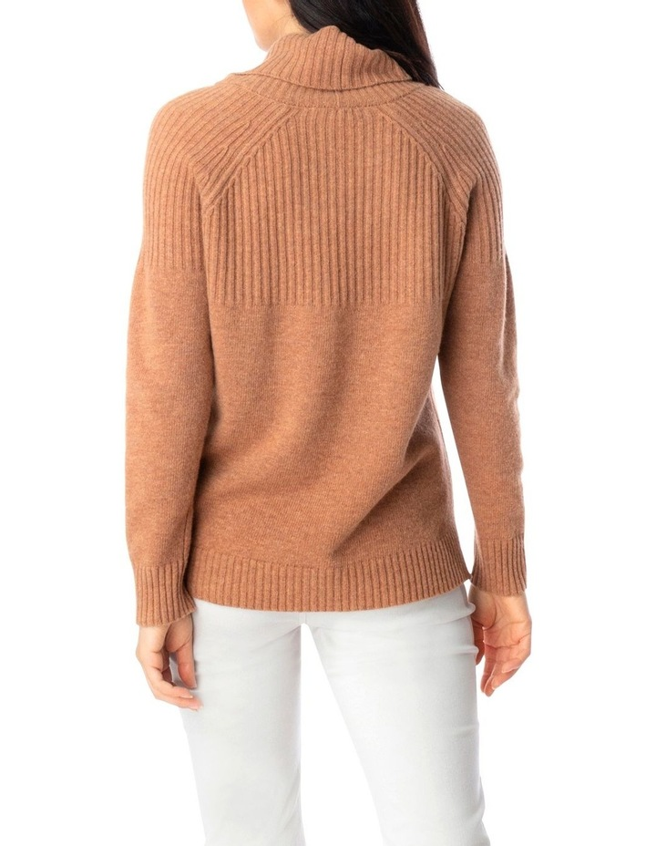 Ribbed Cowl Nk Pullover image 4