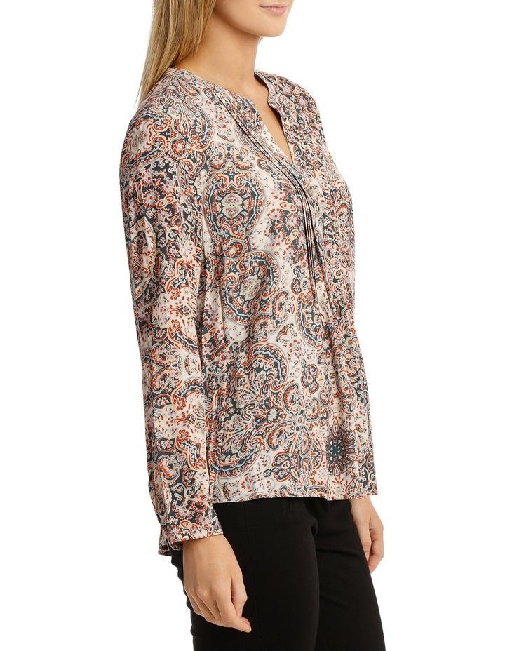 Longsleeve Paisley Pintuck Shirt image 2