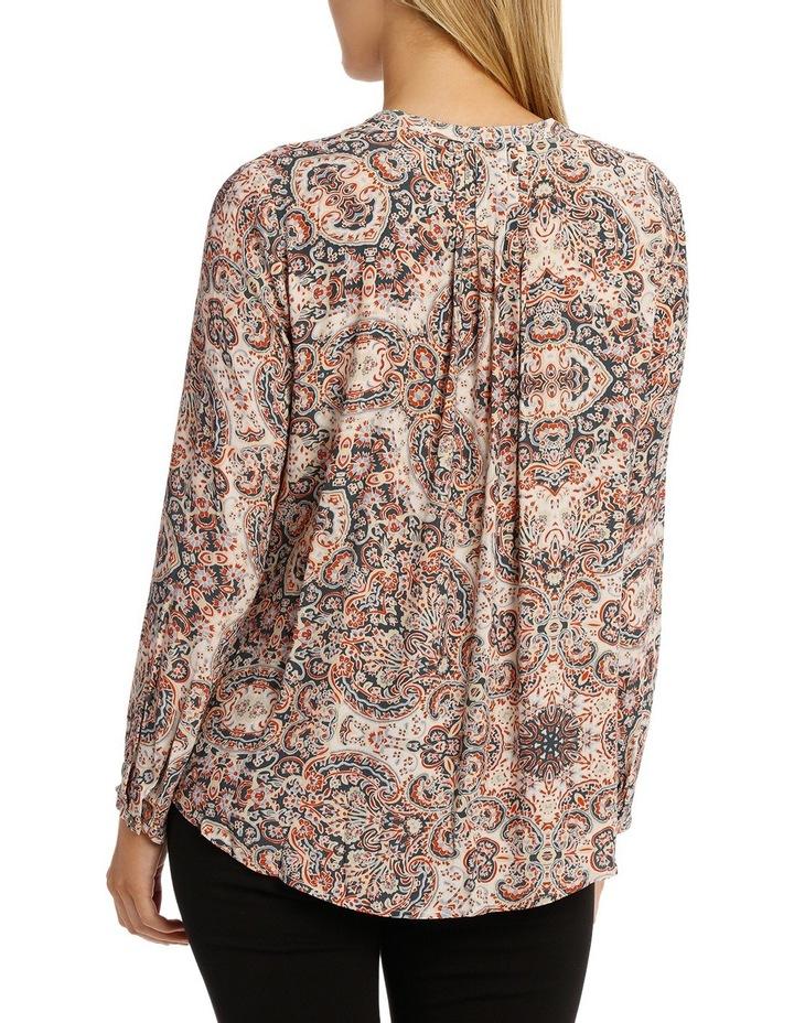 Longsleeve Paisley Pintuck Shirt image 3