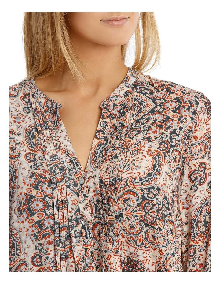 Longsleeve Paisley Pintuck Shirt image 4
