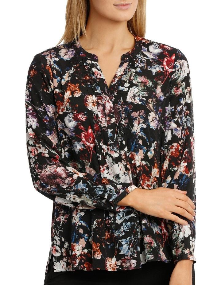Longsleeve Winter Floral Ruffle Shirt image 1