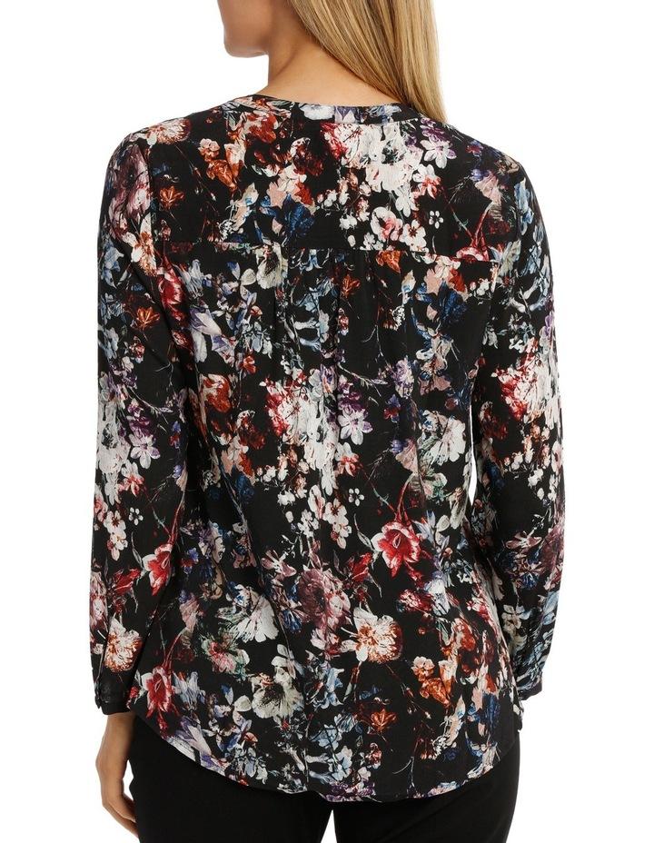 Longsleeve Winter Floral Ruffle Shirt image 3