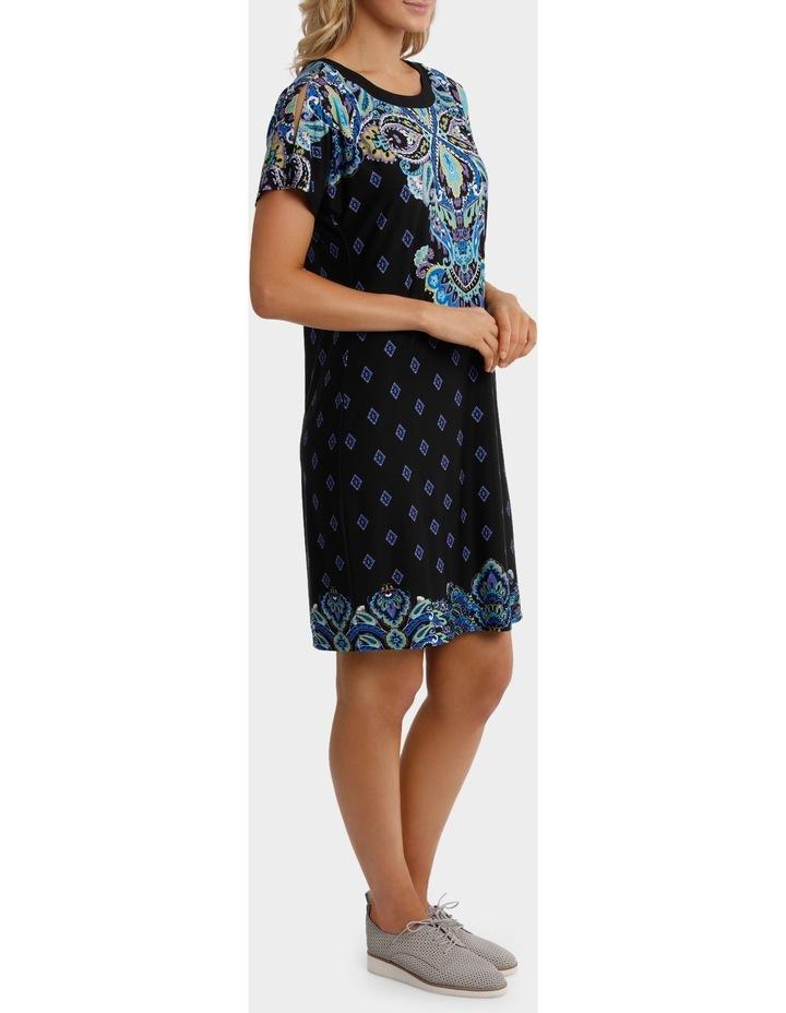 Split Shoulder Jersey Dress image 2