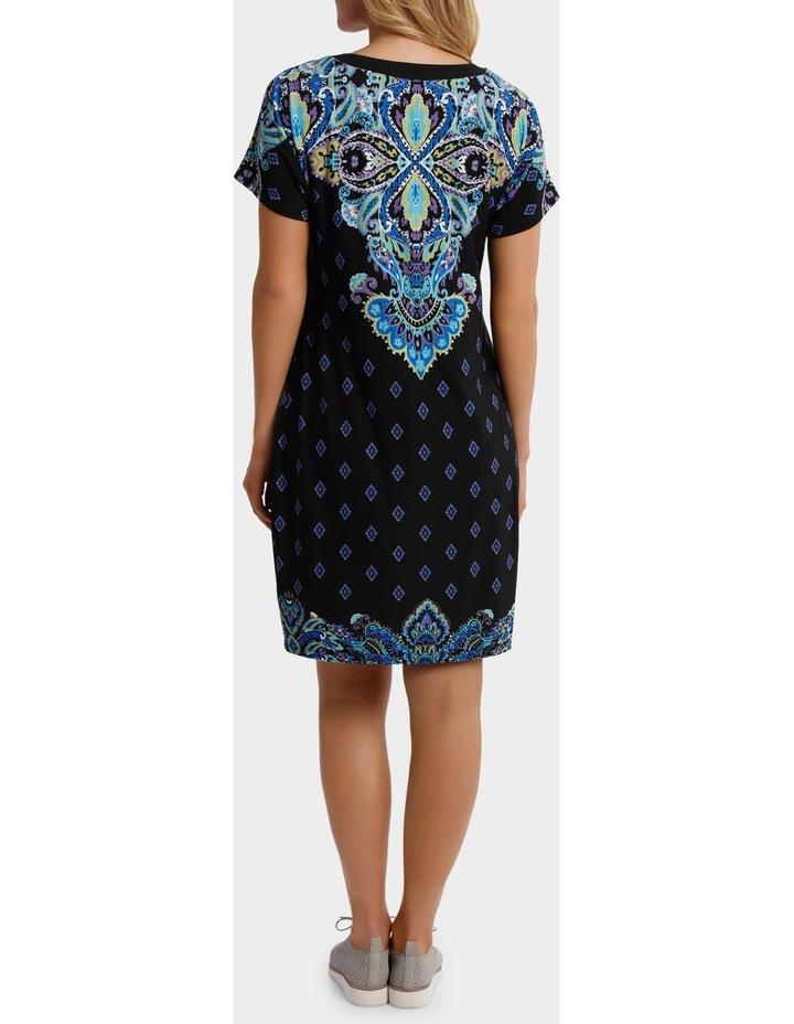 Split Shoulder Jersey Dress image 3