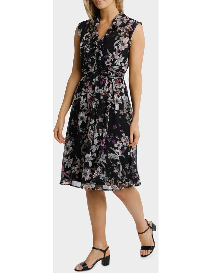 Magic Floral Ruffle Trim Dress image 1