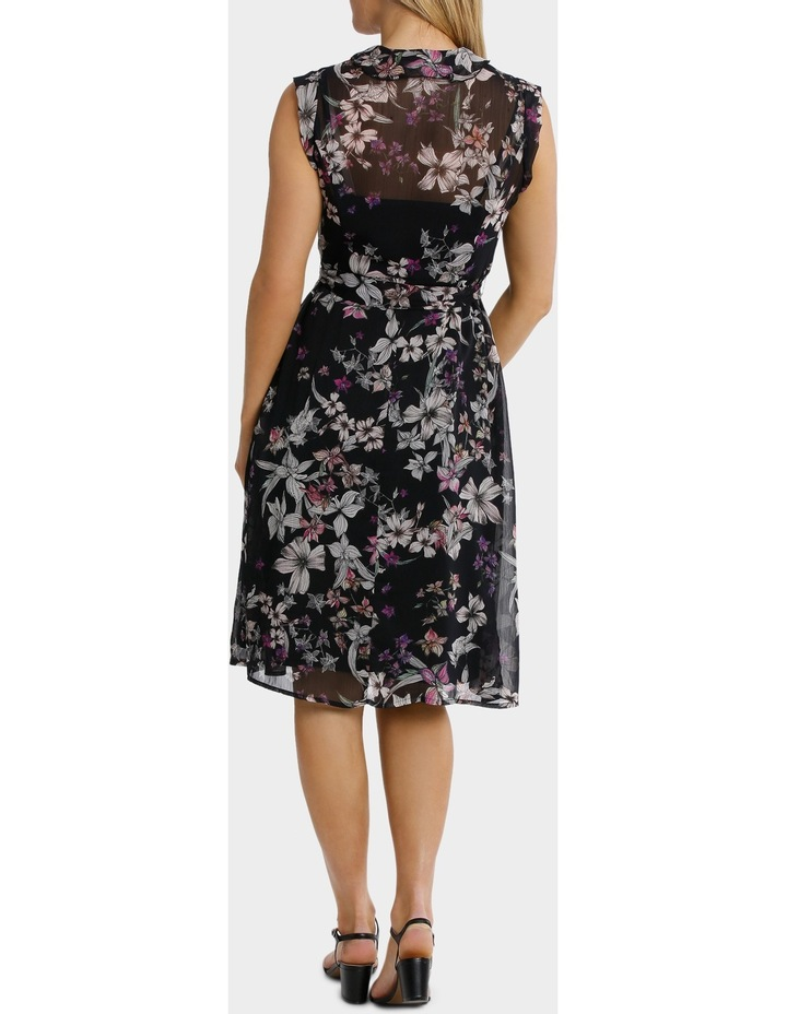 Magic Floral Ruffle Trim Dress image 3