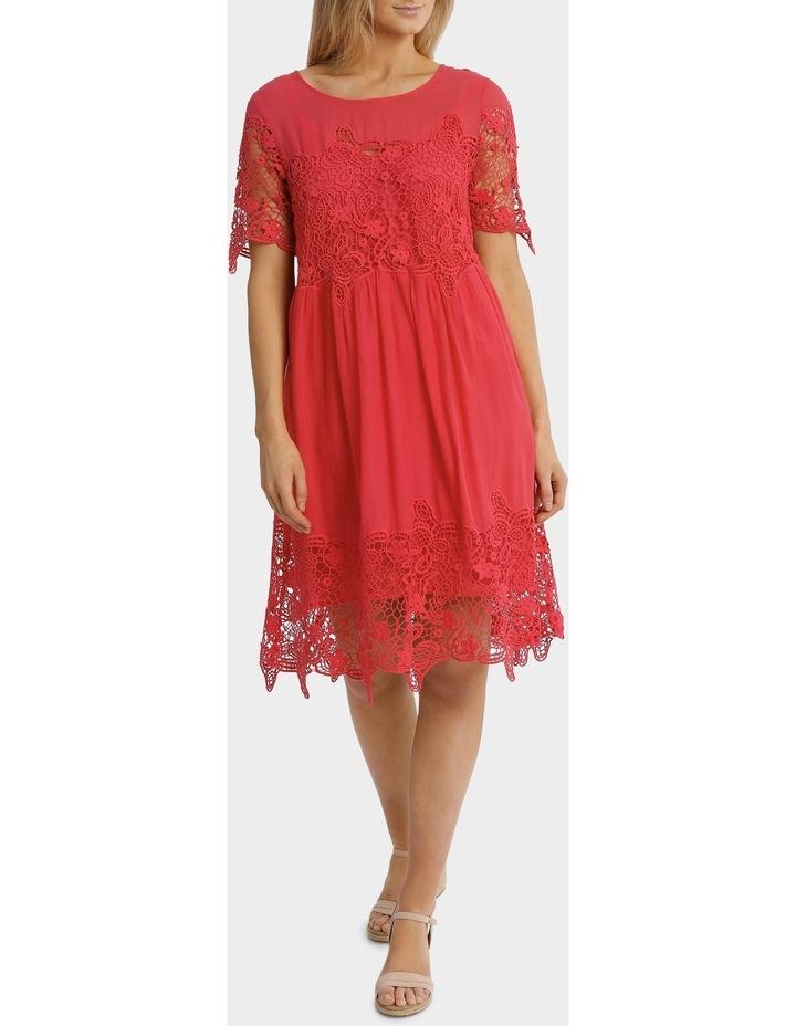 Short sleeve Lace Dress image 1