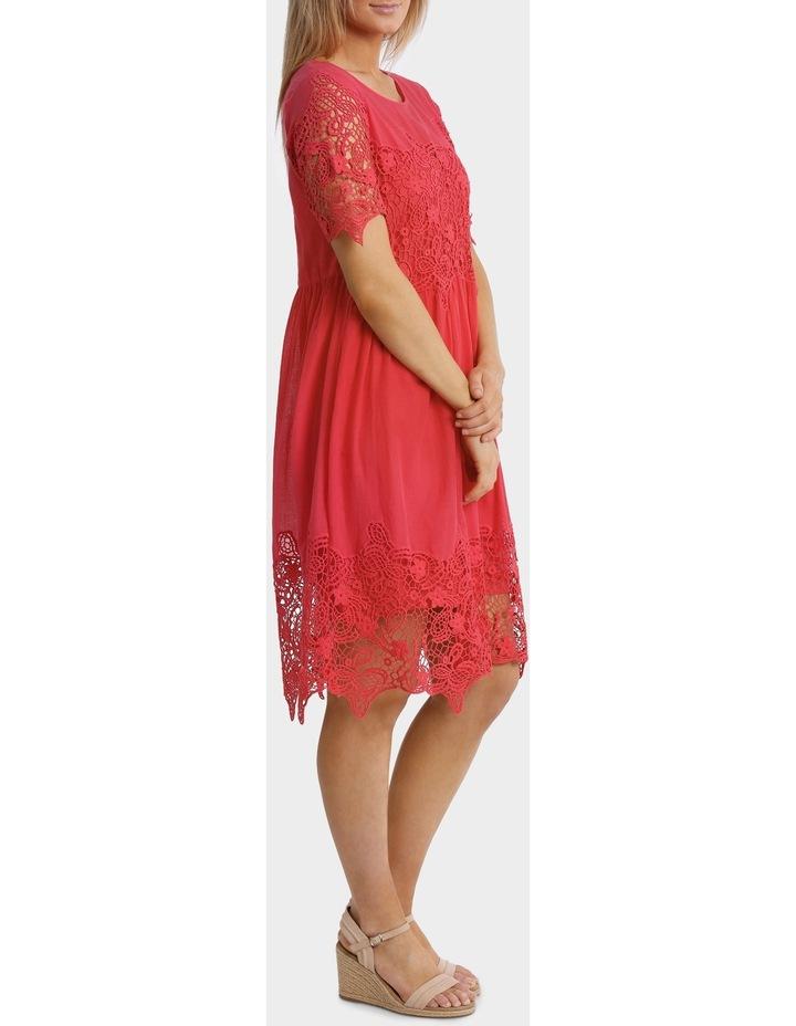 Short sleeve Lace Dress image 2