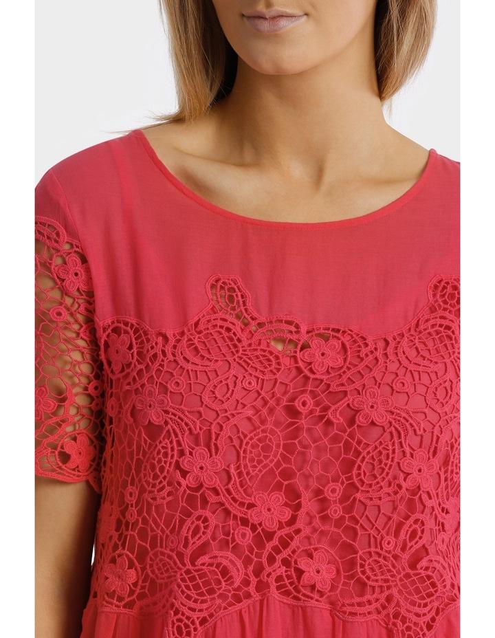 Short sleeve Lace Dress image 4