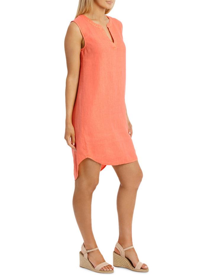 Sleeveless Linen Dress image 2