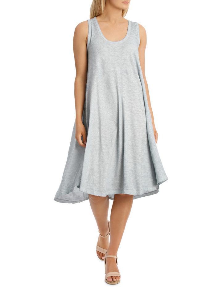 Seam Detail Swing Dress image 1